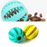 Grazioso Animale Domestico 2 PZ Pet Dog Puppy Gomma Dentale Denti Masticare Giocare palla Formazione Fetch Giocattoli Divertenti Trasporto Libero Trasporto di Goccia 70921