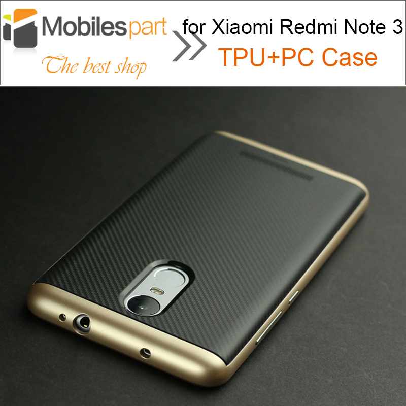 Case for Xiaomi Redmi Note 3 Shockproof PC+TPU Case with Frame Silicone Case Cover for Xiaomi Redmi Note 3 Prime 5.5inch