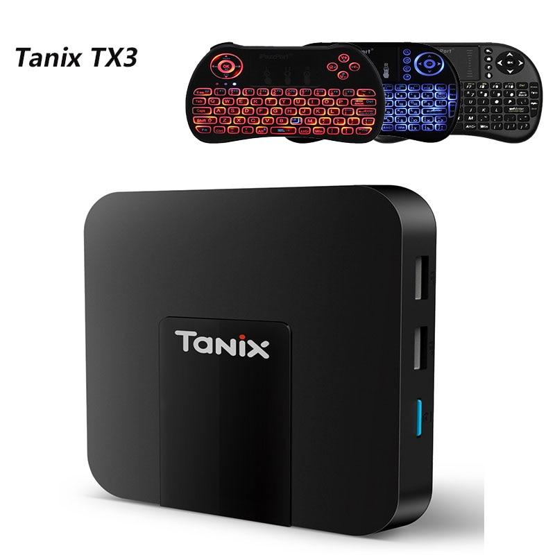 Android 7.1 Tanix TX3Mini 2.4 GHz WiFi TV Box Amlogic S905W Quad-Core CPU Ethernet 10/100 M 2 GB RAM + 16 GB di ROM 4 K Media Player