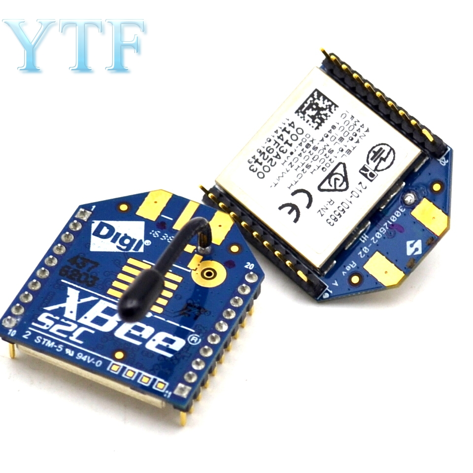 XBee S2 2mW Zigbee Wireless Data Transmission Module 120 Meters For