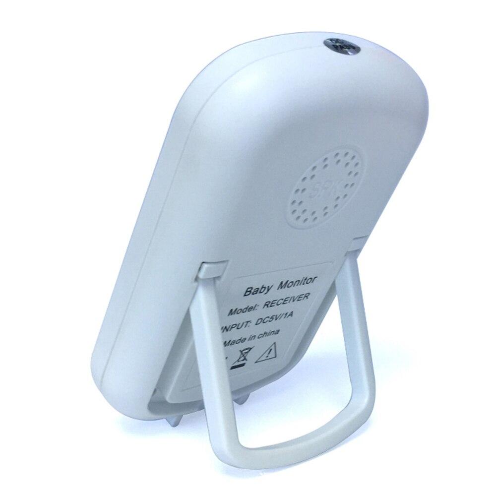 Loozykit 2.4 GHz 2.4 pouces LCD affichage sans fil bébé moniteur vidéo Vision nocturne surveillance de la température bébé téléphone moniteur Audio - 6