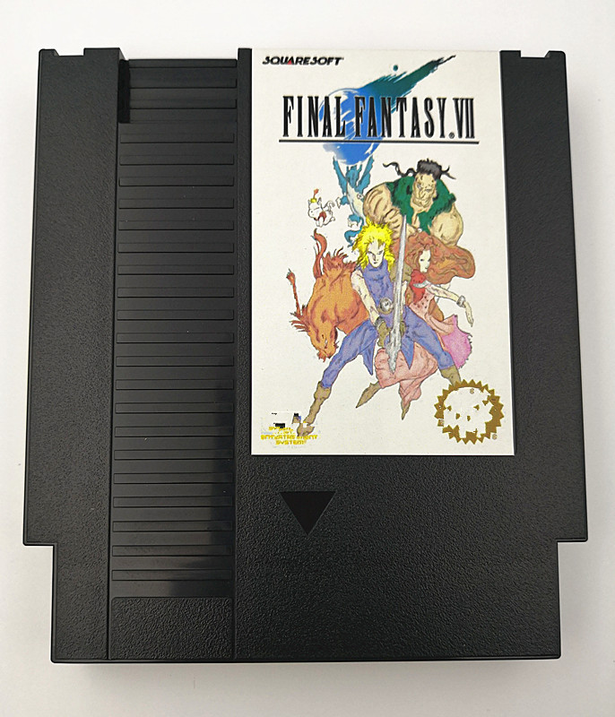FINAL FANTASY VII Game Cartridge For NES Console