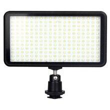Led 228 연속 카메라 Led 패널 조명, 휴대용 디 밍이 가능한 카메라 캠코더 Led 패널 비디오 조명 Dslr 카메라 Ca