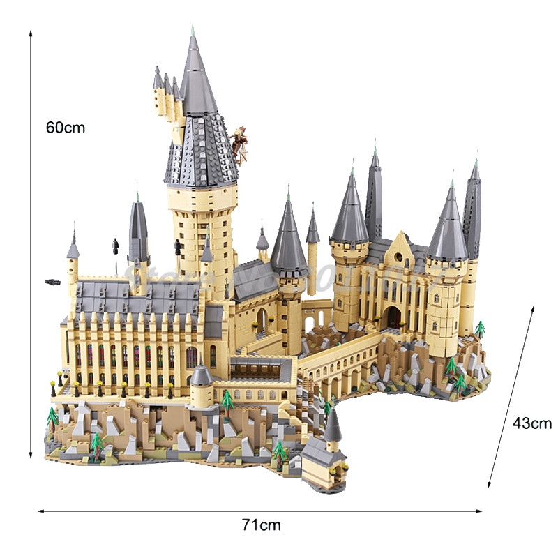 lepin 16060 harry film potter serie die legoinglys 71043 hogwarts castle weihnachten spielzeug 16042 pirates serie die stille Hogwarts Castle Building Blocks 71043 Model Harry Movie Potter Series Lepin 16060 DIY Toys For Children 6742pcs