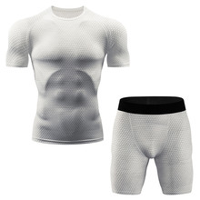 New Mens Thermal Underwear Set Elastic Compression Polartec Breathable Warm Sports