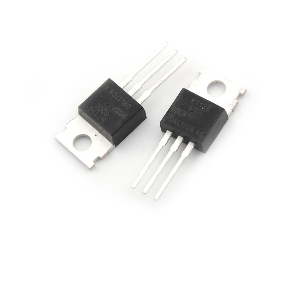 20PCS BT136-600 BT136-600E NXP TRIAC 600V 4A TO220AB New