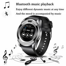 WISHDOIT Men Women Smart Watch WristWatch Support With Camera Bluetooth SIM TF Card Smartwatch For Android Phone Couple Watches