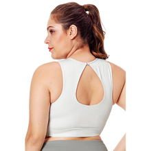 Super Elastic Plus Size Workout Tank Bra for Women