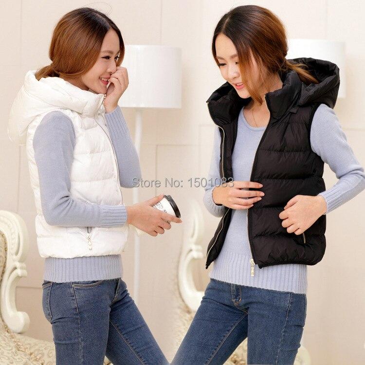 Spring Autumn And Winter Gilet Women Padded Vest Bodywarmer Puffer