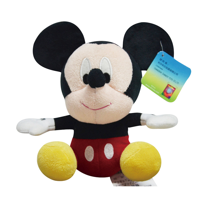 Disney Plush Toys Winnie The Pooh Mickey Mouse Minnie Doll Stitch  Baby Stuffed Toys Birthday Christmas Gifts For Children