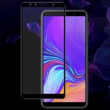 Защитное стекло, Закаленное стекло 9Н для Samsung Galaxy A7 2018