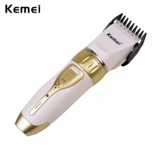 Rechargeable Hair Trimmer Clipper Men Electric Barber Cutter Cutting Machine Haircut Shaving Razor Ceramic Titanium Blade