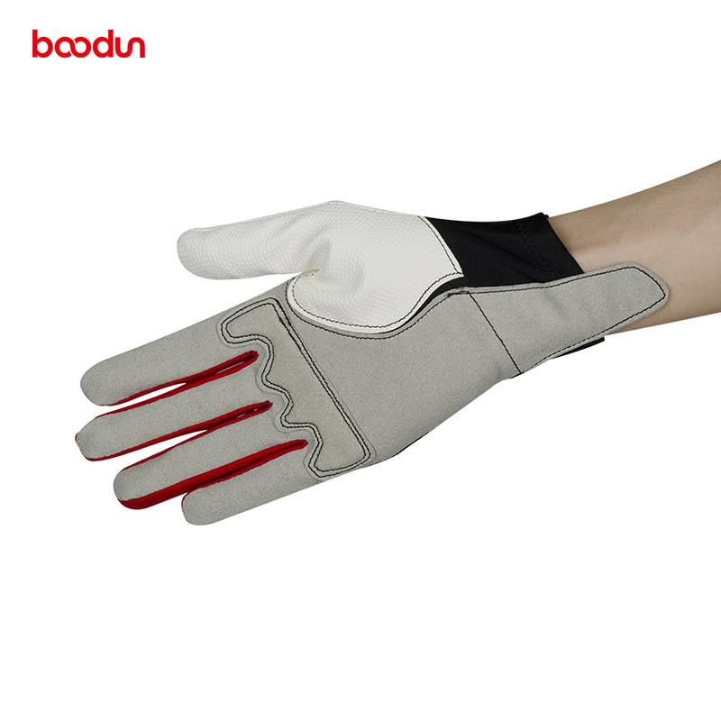 Image 4 - Boodun Men Women Horse Riding Gloves Equestrian Training Golf Breathable Leather Gloves Riding Equestrian Sports Gloves-in Riding Gloves from Sports & Entertainment