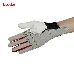 Image 4 - Boodun男性女性乗馬手袋馬術トレーニングゴルフ通気性革手袋乗馬スポーツ手袋