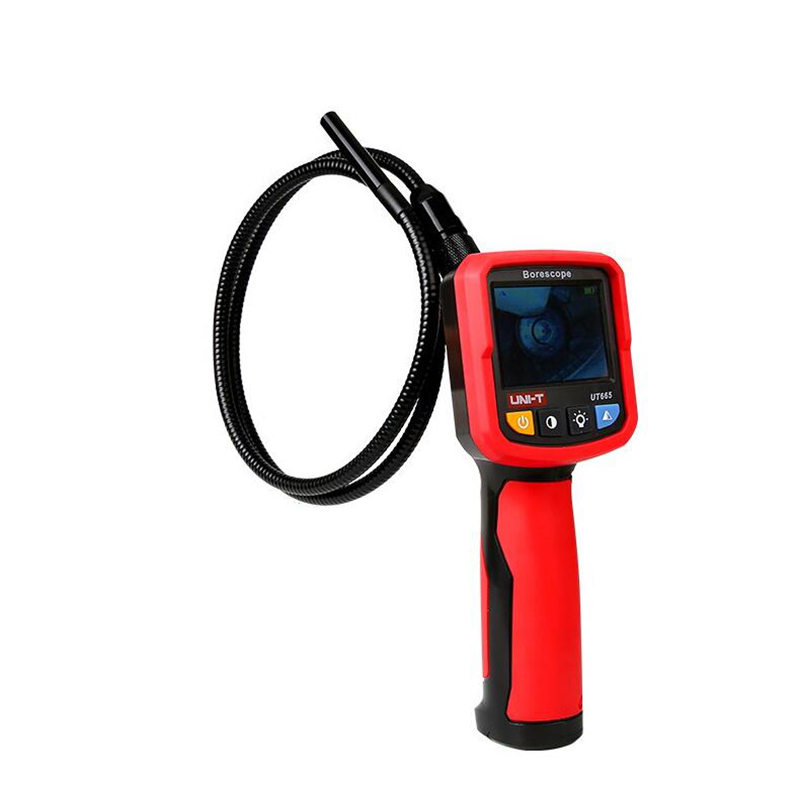 Image 2 - UNI T UT665 Handheld Industrial Borescope Professional Endoscope Vehicle Maintenance Inspection Pipeline   Detector with Waterpr-in Borescopes from Tools