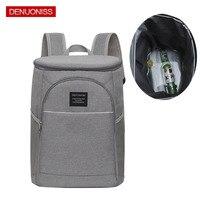 Camping Cooler Bag Nevera Portatil Portable Insulated Waterproof Food Cooler Insulation Bag for Camping Picnic Beer Backpacks