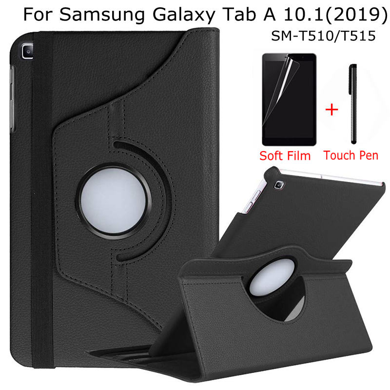 Rotating Stand PU Leather Case For Samsung Galaxy Tab A 10.1 SM-T510/T515 10.1