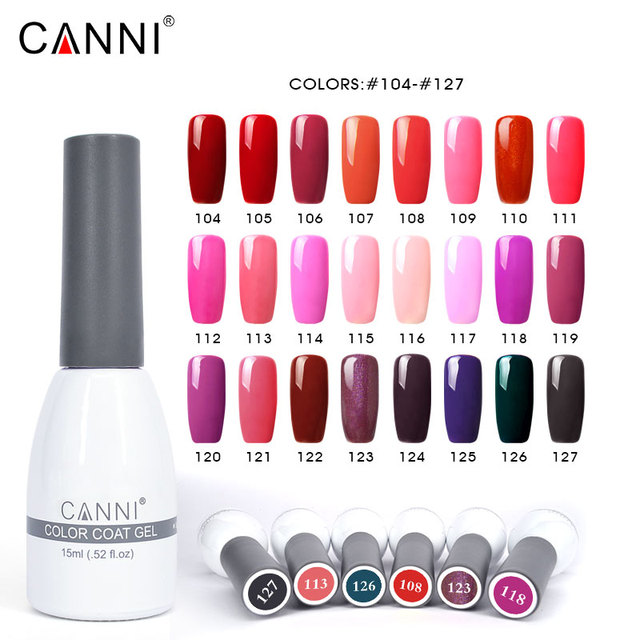 62507 239 Colors Gel Lacquer Professional CANNI Create Your Own ...
