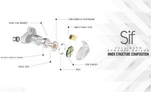 Image 5 - KINERA SIF Single Dynamic Driver Unit In Ear Earphone DJ HIFI Monitor Headset With MMCX Detachable Detach Cable Sport Earbud