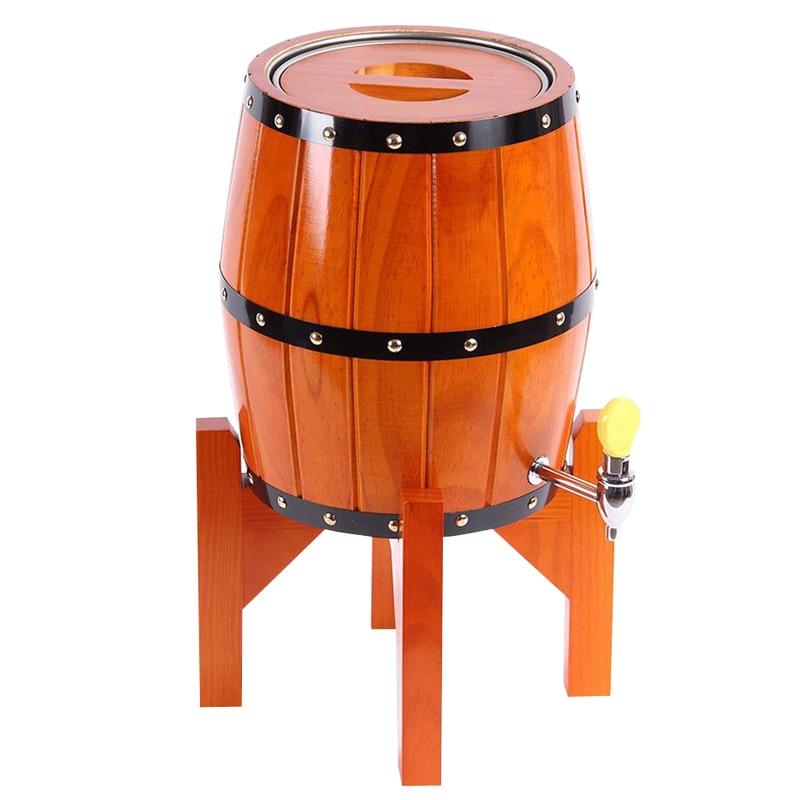 7l Beer Barrel Wine Oak Barrels Vertical Cask Beer Keg Stainless