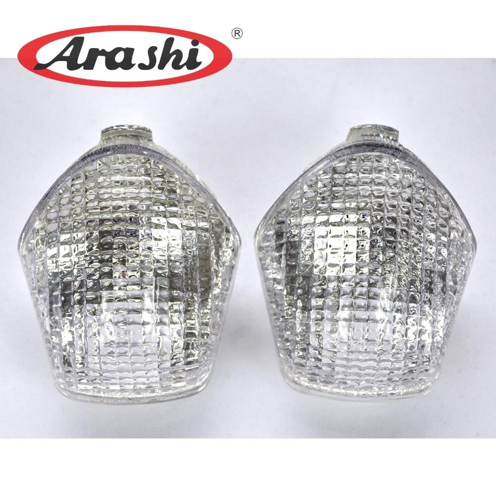 Arashi Motorcycle Parts Front Turn Signal Light Cover Case For HONDA CBR600RR CBR1000RR F2 / F3 1991 1992 1993 1994