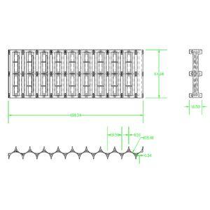 Image 5 - OOTDTY soporte de espaciador de batería de plástico 18650, 10 Uds., 2x1 0P/2x13P, soporte de celda cilíndrica para accesorios de almacenamiento de batería