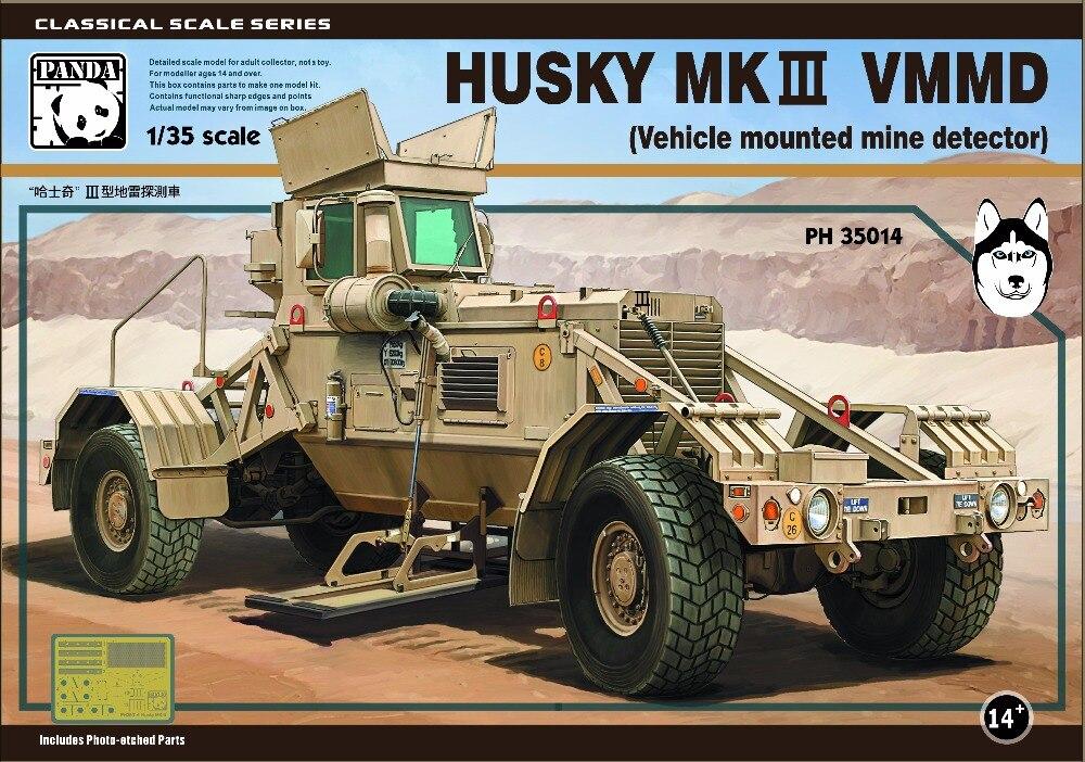 Panda Hobby 1/35 Husky MKIII VMMD (Vehicle Mounted Mine Detector)