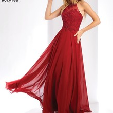 Rotylee A-Line Prom Dresses with Floor Length