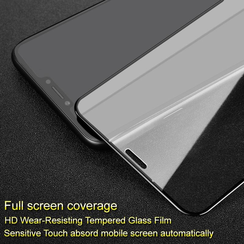 Imak Pro + Protecteur D'écran pour Asus Zenfone 5 5z ZE620KL/ZS620KL Pleine Couverture En Verre Trempé De Protection En Verre Plein colle Absord