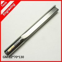 12.7*100*130L CNC Solid Carbide Two Straight Flute Bits/CNC Router Bits for MDF Wood Acrylic