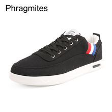 Phragmites 2019 New Summer Breathable Canvas Shoes Tenis Masculino Light Weight Casual Men Sport Sneakers