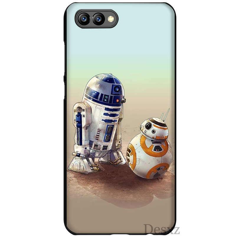 Caso de telefone Star Wars YODA E Bb8 Estilo Colorido Para Honra Nota 6a 7C 7X9 10 Lite Pro 8X Capa Protector