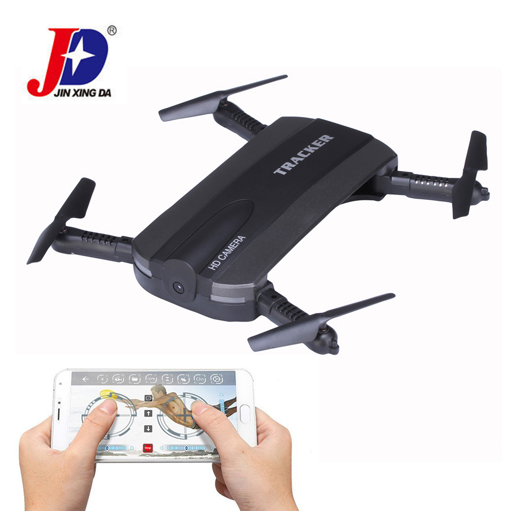 JIN XING DA JXD 523 RC Helicopters Mini Foldable 6-Axis WIFI FPV RC Drone with Camera HD Quadcopter Altitude Hold