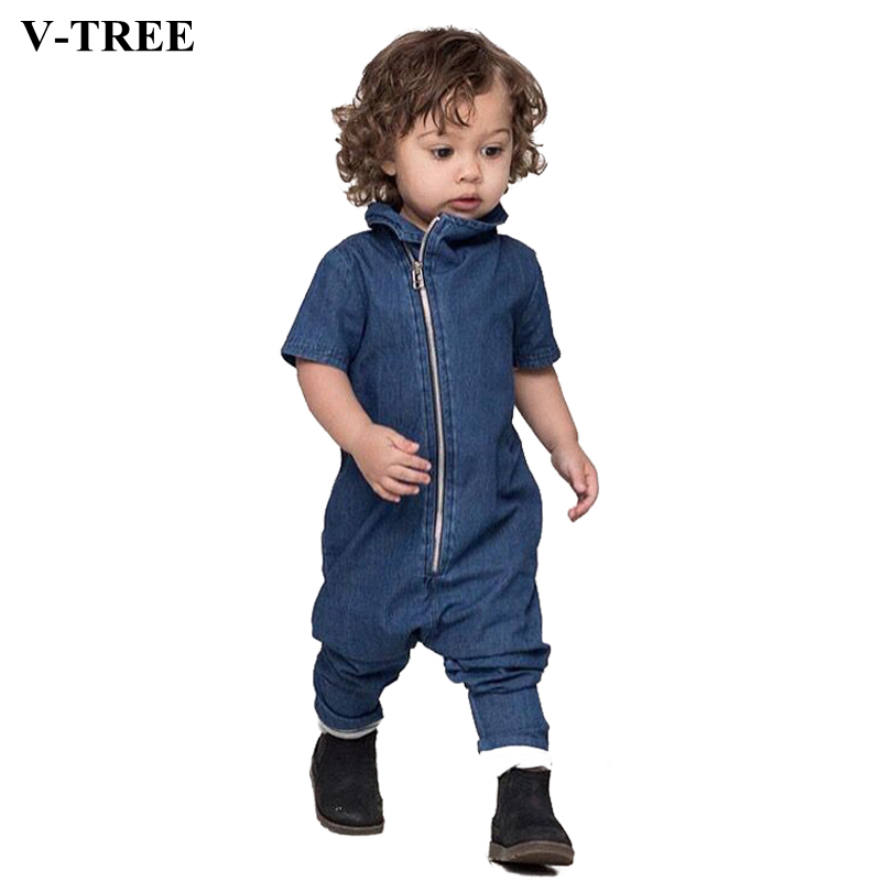 V-TREE Rompers For Toddlers Baby Girls Zipper Romper Costumes For Boys Bebe Clothes Newborn Clothes Overalls For Infant Jumpsuit newborn baby girls jumpsuit rompers boys clothes romper for infant baby girls pajamas spring autumn long sleeve cotton costumes