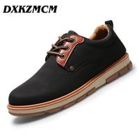 DXKZMCM 2017 Autumn Winter Comfortable Top Quality Men Casual Shoes Size EU 39 44