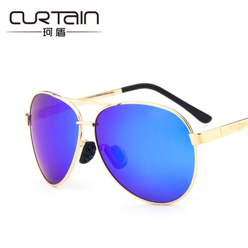 8722d5fa48f1f Óculos de sol Dos Homens Polarizados Óculos De Sol Das Mulheres Designer de Marca  Polarizada Óculos Óculos de Proteção Uv400 de Metal de Luxo de Alta ...