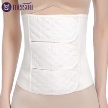Meisou Men and Women Adjustable Elstiac Waist Support Belt Lumbar Back Exercise Belts Brace Slimming Trainer