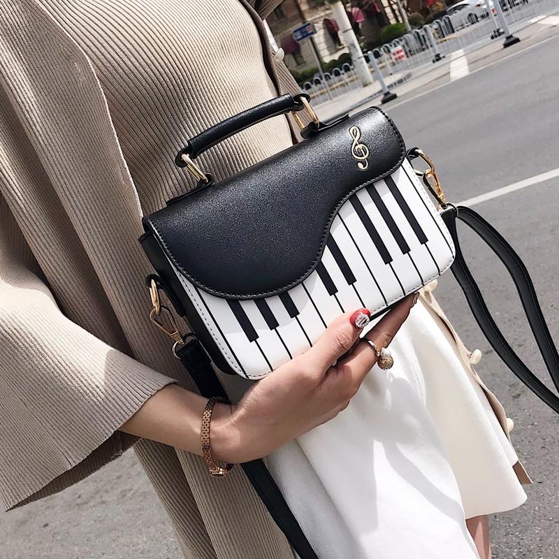 Armas klaverimuster õla kott Fashion Pu nahast vabaaja naiste - Käekotid