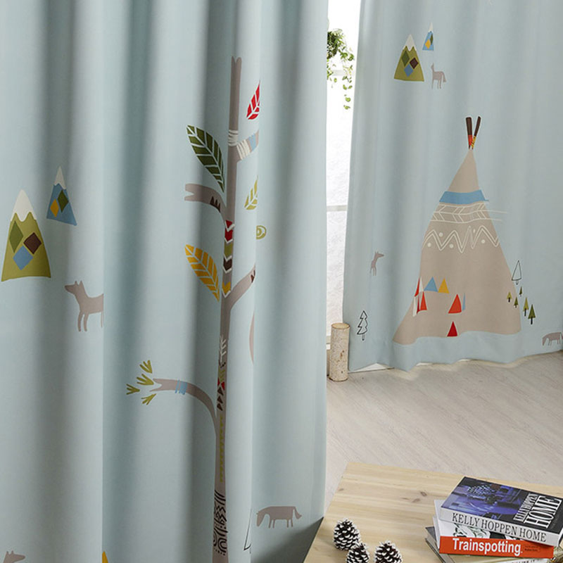 280cm X 140cm Indian Tent Double Sided Window Sunshade Curtain Fabric Cotton Blend Cloth Shower