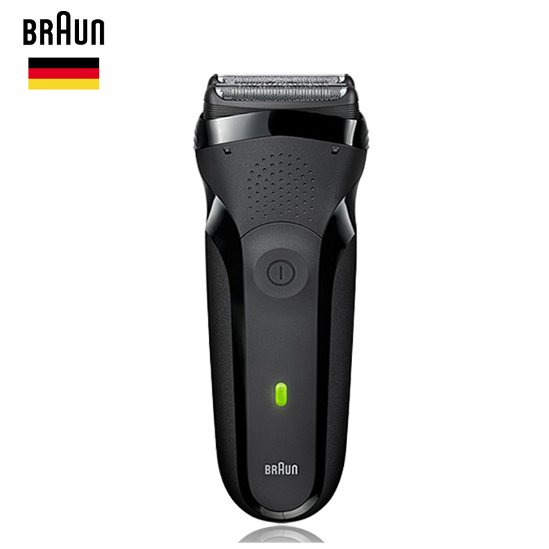 Braun Men Electric Shavers Series 3 301s Rechargeable Foil Beard Shaver Safety Razor Whole Body Washing Shaving Machine 100-240v braun electric foil shaver series 3 proskin 3040s rechargeable razor for men shaving machine wet
