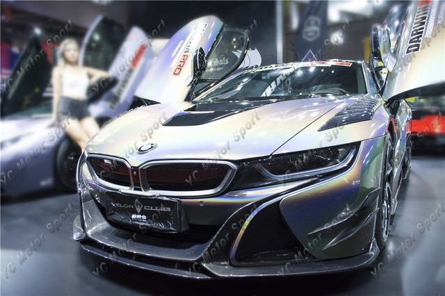Carbon Fiber Electric Berserker Style Bodykit Fit For 2014 2018 I8