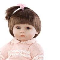 May Baby #5001 55cm Soft Silicone Reborn Dolls Baby Realistic Doll Reborn 22 Inch Full Reborn Doll Girls Drop Shopping