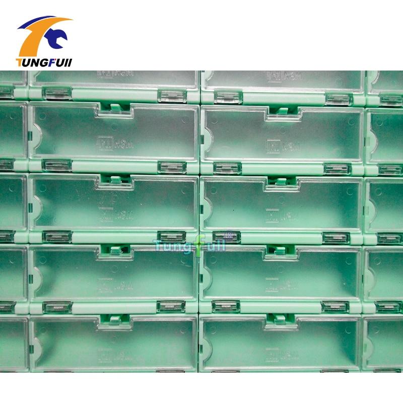 30 pezzi componenti elettronici kit kit scatole contenitori - Portautensili - Fotografia 6