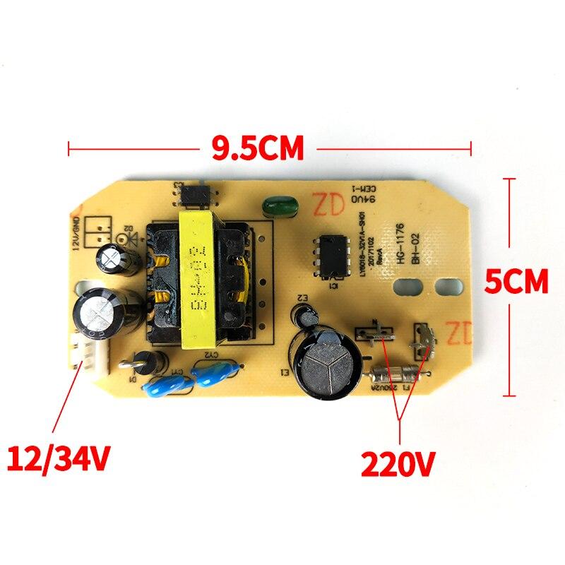 12 v 34 v Ersatz Luftbefeuchter Teile Universal Luftbefeuchter Power Board Zerstäubung Platine Allgemeine Schaltung Netzteil