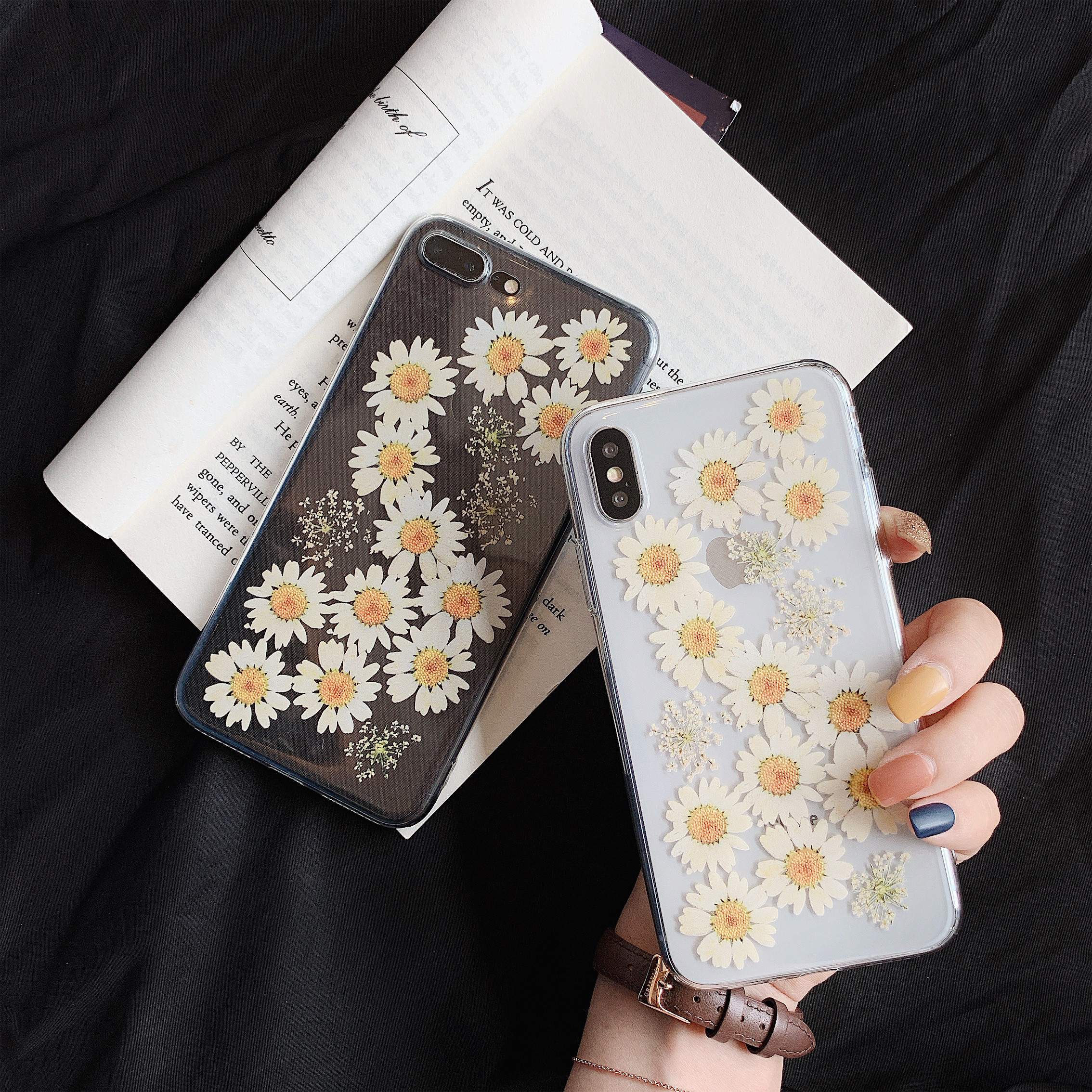 3D Flower <font><b>Shockproof</b></font> <font><b>Case</b></font> on for <font><b>Huawei</b></font> P30 Lite Nova 4E Y9 <font><b>2019</b></font> <font><b>Y7</b></font> Prime Y9 2018 Honor Play 6C V10 5A 6A 7A Silicone TPU Cover image