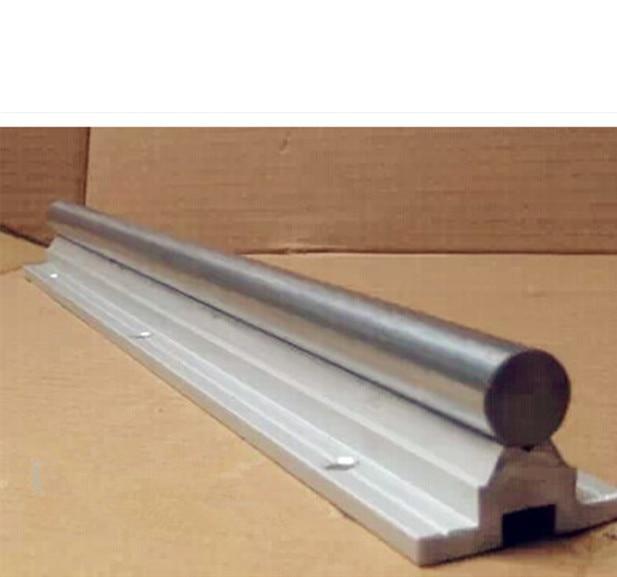 SBR16 -1000/500/600/700mm linear rail + Sfu1605-550/650/750mm ballscrew with end machined BK12/BF12 Support 1605 Nut Housing