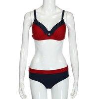 Womail Marque Le Plus Bas Prix Femmes de maillot de bain Dames Maillots De Bain Bandage Bikini Set Push-Up Soutien-Gorge Rembourré Maillot de bain Maillot de Bain
