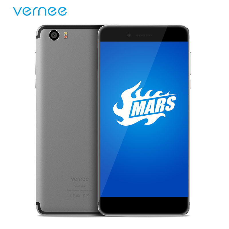 """Vernee Mars 5.5"""" FHD Helio P10 MT6755 Octa-Core Android 7.0 Cell Phones 4G RAM 32G ROM 13.0MP CAM Type-C Smartphone"""