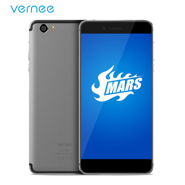 """Vernee Mars 5.5"""" FHD Mobile Phone Helio P10 MT6755 Octa-Core Android 7.0 Cell Phones 4G RAM 32G ROM 13.0MP CAM Type-C Smartphone"""