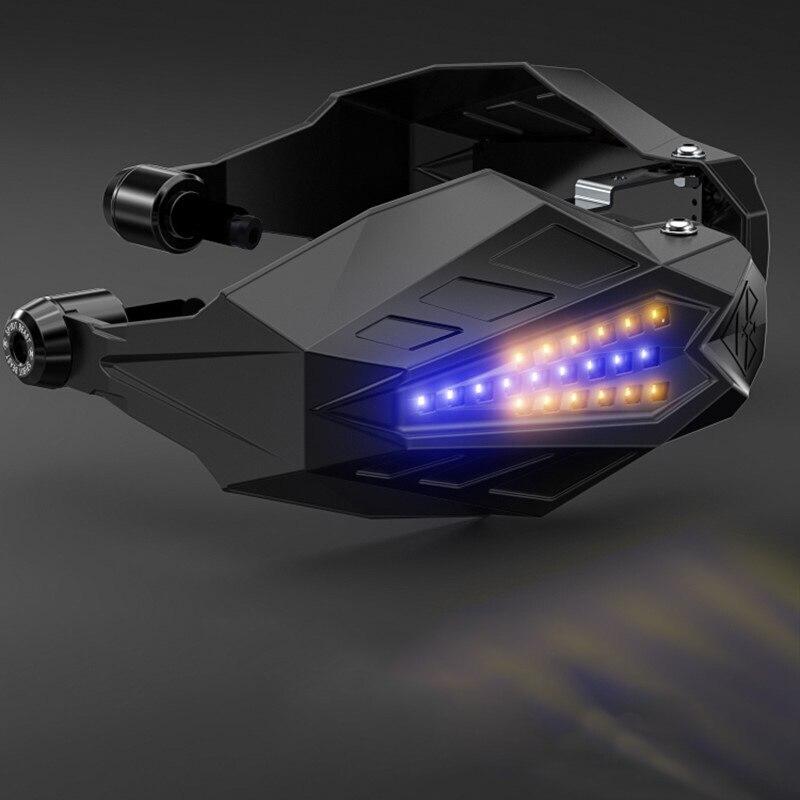 Accessoires moto guidon avec lumière LED pour yamaha r1 échappement ktm duke 690 yamaha tw ktm 990 aventure bmw r1250gs